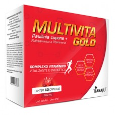 Multivita Gold - 60 Cáps. Softgel