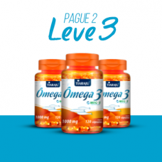 LEVE 3 PAGUE 2 - Ômega 3 (1000 mg) - 120 Cáps. Softgel
