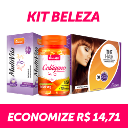 Kit Beleza - MultiVita + Colágeno & Vitamina C + The Hair