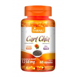 Cart Chia (1250 mg) - 60 Cáps. Softgel