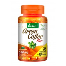 Green Coffee Plus (500 mg) - 60+10 Cáps. Softgel - Café Verde