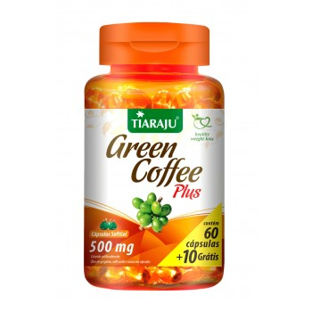 Green Coffee Plus (500 mg) - 60+10 Cápsulas Softgel