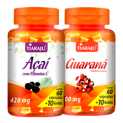 Açaí com Vitamina C + Guaraná