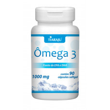 Ômega 3 (1000 mg) - 90 Cáps. Softgel