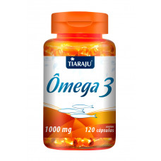 Ômega 3 (1000 mg) - 120 Cáps. Softgel