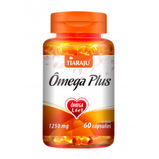 Ômega Plus (1250 mg) - 60 Cáps. Softgel