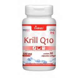 Krill Q10 (580mg) - 30 Cápsulas Softgel