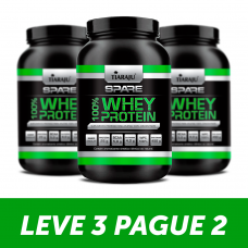 LEVE 3 PAGUE 2 Whey Protein  100% Proteína Concentrada (450 g) - Sabor Chocolate